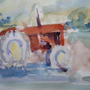 Le tracteur à M. Phil.,©