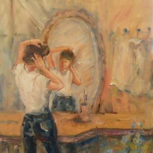 Miroir, dis-moi, huile, ©
