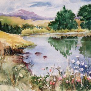 Le lac, ©