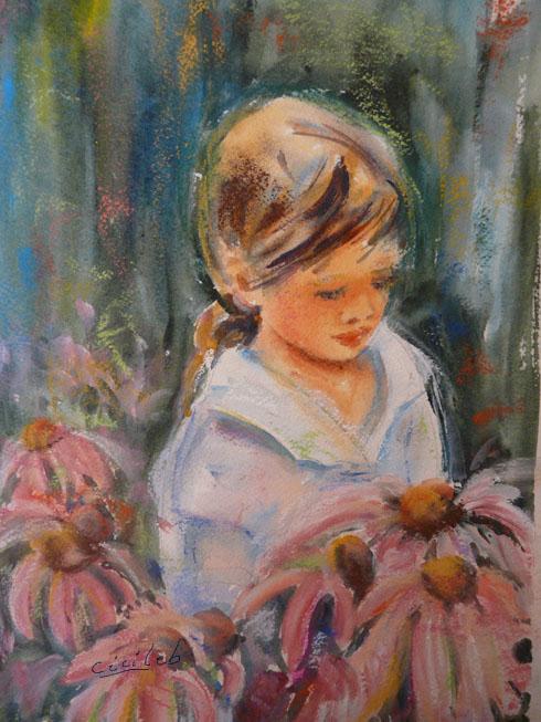 Admirer des fleurs