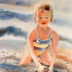 Sara à la plage, ©